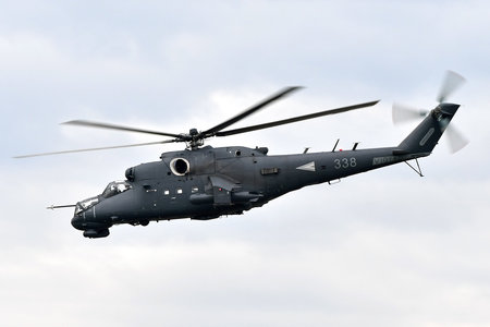 Mil Mi-24P - 338 operated by Magyar Légierő (Hungarian Air Force)