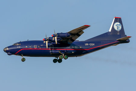 Antonov An-12BK - UR-CGV operated by Ukraine Air Alliance (UAA)