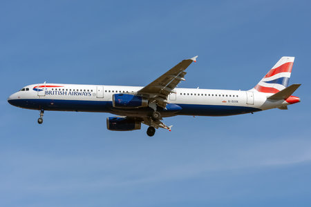 Airbus A321-231 - G-EUXK operated by British Airways
