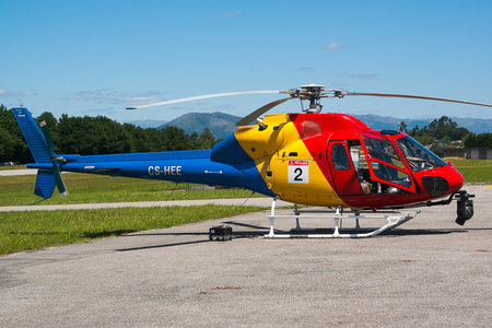 Aerospatiale AS355 F1 Ecureuil 2 - CS-HEE operated by HTA Helicópteros