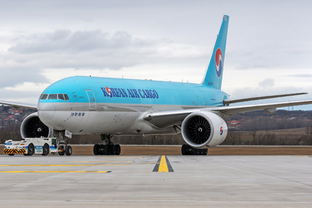 Boeing 777F - HL8044 operated by Korean Air Cargo