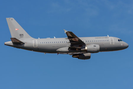 Airbus A319-112 - 605 operated by Magyar Légierő (Hungarian Air Force)