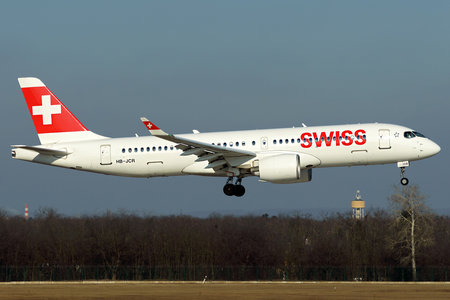 Airbus A220-300 - HB-JCR operated by Swiss International Air Lines