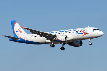 Airbus A320-214 - VP-BIE operated by Ural Airlines