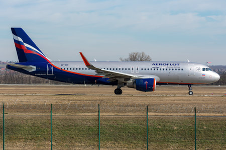 Airbus A320-214 - VP-BIX operated by Aeroflot