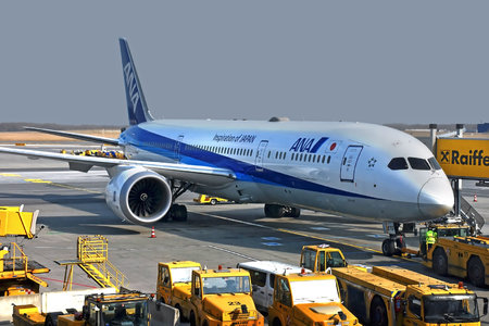 Boeing 787-9 Dreamliner - JA876A operated by All Nippon Airways (ANA)