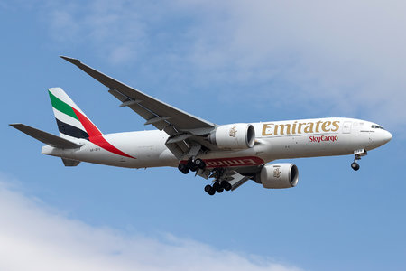 Boeing 777F - A6-EFO operated by Emirates SkyCargo