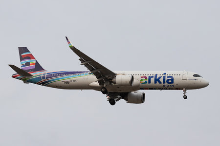 Airbus A321-251NX - 4X-AGN operated by Arkia Israeli Airlines