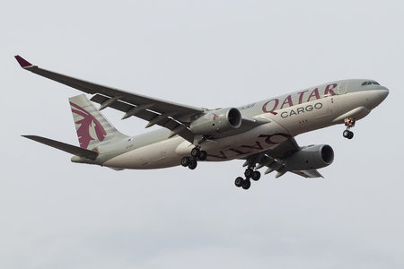 Airbus A330-243F - A7-AFF operated by Qatar Airways Cargo