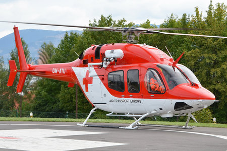 Bell 429 - OM-ATU operated by Air Transport Europe