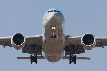 Boeing 777F - HL8045 operated by Korean Air Cargo
