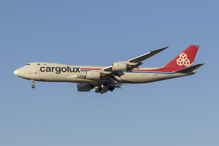 Boeing 747-8F - LX-VCE operated by Cargolux Airlines International