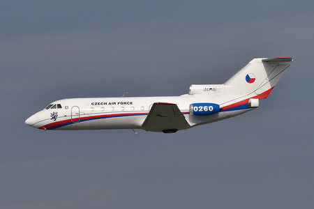 Yakovlev Yak-40 - 0260 operated by Vzdušné síly AČR (Czech Air Force)