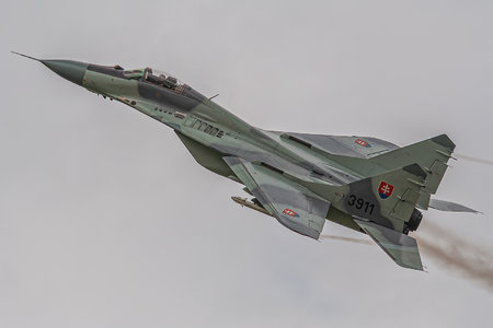 Mikoyan-Gurevich MiG-29A - 3911 operated by Vzdušné sily OS SR (Slovak Air Force)