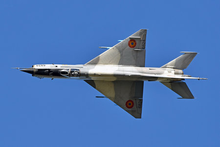 Mikoyan-Gurevich MiG-21MF - 6824 operated by Forţele Aeriene Române (Romanian Air Force)