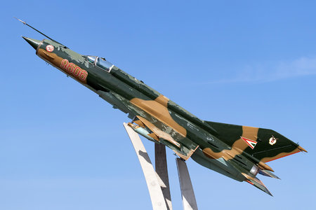 Mikoyan-Gurevich MiG-21MF - 9606 operated by Magyar Légierő (Hungarian Air Force)
