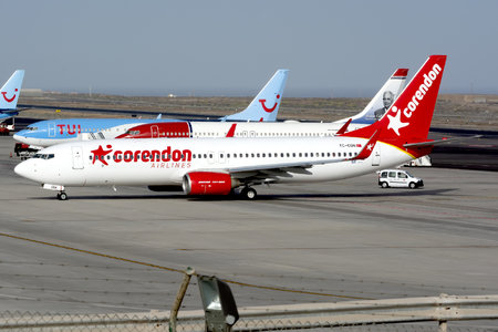 Boeing 737-800 - TC-CON operated by Corendon Airlines