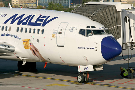 Boeing 737-600 - HA-LOG operated by Malev Hungarian Airlines