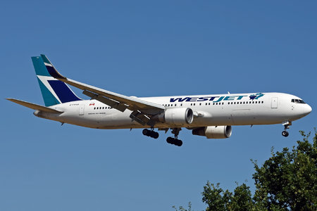 Boeing 767-300ER - C-FWAD operated by WestJet Airlines