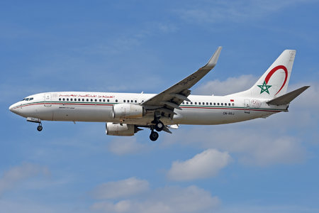 Boeing 737-800 - CN-RGJ operated by Royal Air Maroc (RAM)