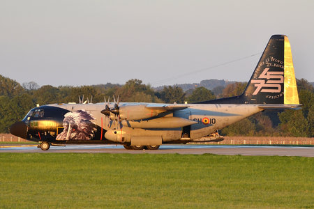 Lockheed C-130H Hercules - CH-10 operated by Luchtcomponent (Belgian Air Force)