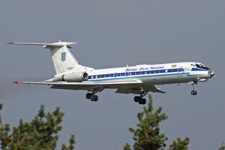 Tupolev Tu-134A - 63957 operated by Povitryani Syly Ukrayiny (Ukrainian Air Force)