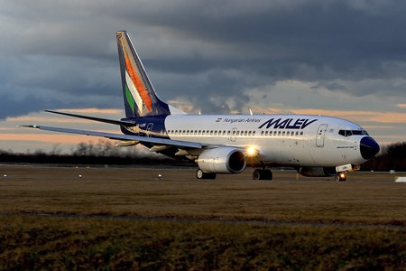 Boeing 737-700 - HA-LOB operated by Malev Hungarian Airlines