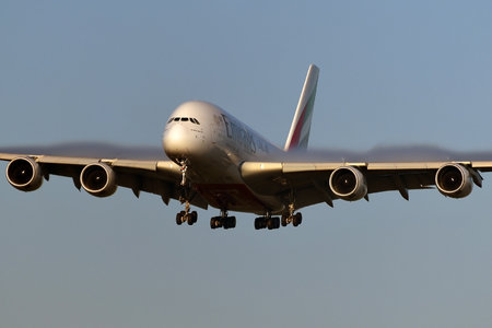 Airbus A380-861 - A6-EOS operated by Emirates