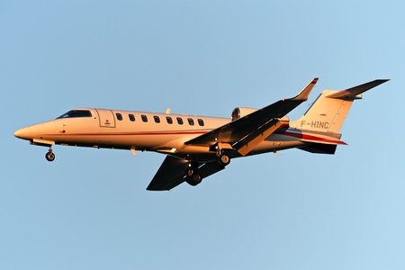 Bombardier Learjet 75 - F-HINC operated by Agroair