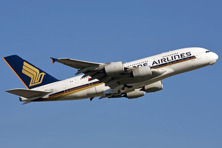 Airbus A380-841 - 9V-SKR operated by Singapore Airlines