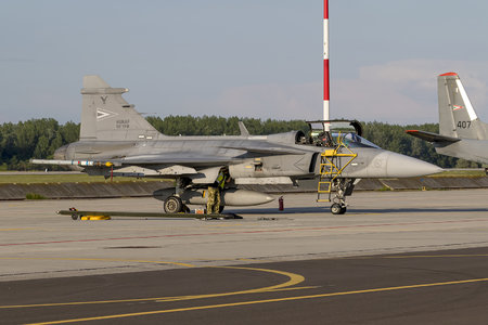 Saab JAS 39C Gripen - 31 operated by Magyar Légierő (Hungarian Air Force)
