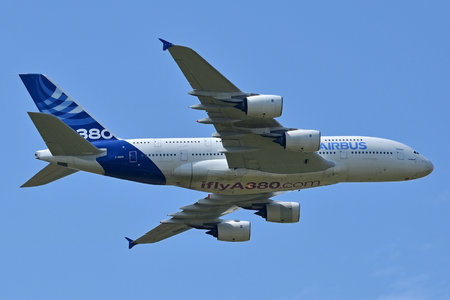 Airbus A380-841 - F-WWOW operated by Airbus Industrie