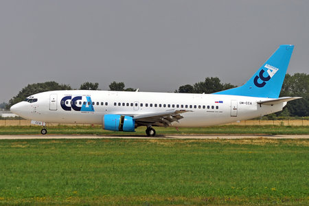 Boeing 737-300 - OM-CCA operated by Central Charter Airlines Slovakia