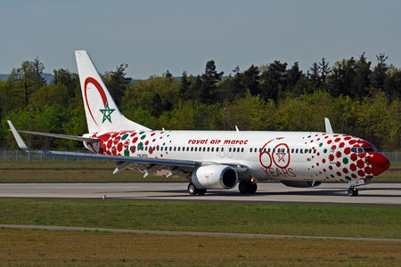 Boeing 737-800 - CN-RGV operated by Royal Air Maroc (RAM)