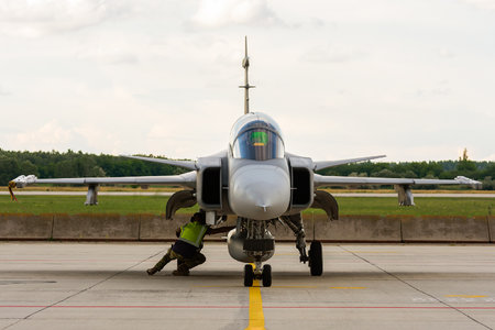 Saab JAS 39D Gripen - 44 operated by Magyar Légierő (Hungarian Air Force)