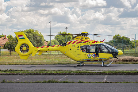 Eurocopter EC135 P2+ - HA-HBH operated by Magyar Légimentő Nonprofit (Hungarian Air Ambulance)