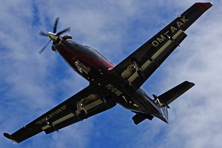 Pilatus PC-12/47E - OM-AAK operated by Elite Jet
