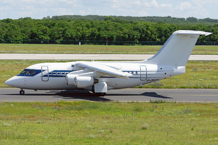 British Aerospace BAe 146-100 - G-OFOM operated by Formula One Management Ltd