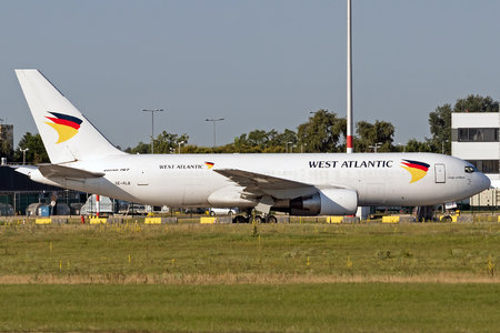 Boeing 767-200BDSF - SE-RLB operated by West Atlantic