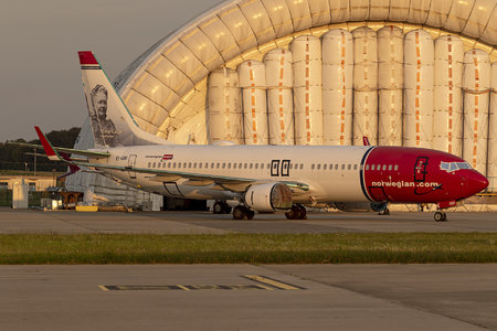 Boeing 737-800 - EI-GBI operated by Norwegian Air International