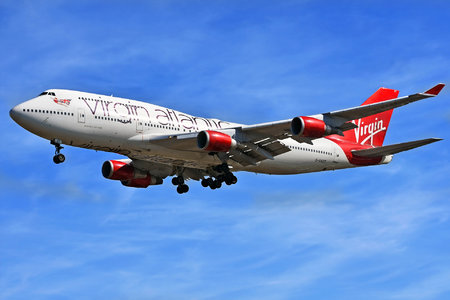 Boeing 747-400 - G-VAST operated by Virgin Atlantic Airways