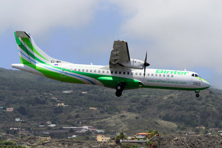 ATR 72-600 - EC-MPI operated by Binter Canarias