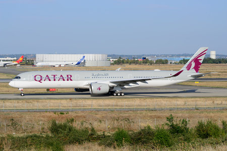 Airbus A350-1041 - F-WZGK operated by Qatar Airways