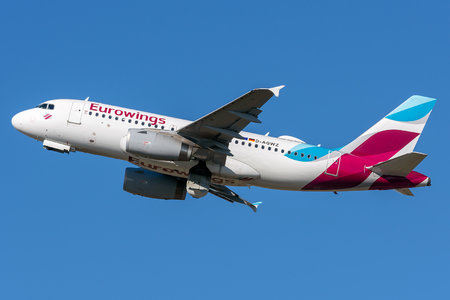 Airbus A319-132 - D-AGWZ operated by Eurowings