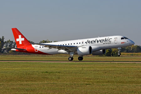 Embraer E190-E2 (ERJ-190-300STD) - HB-AZE operated by Helvetic Airways