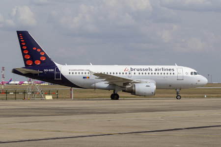 Airbus A319-111 - OO-SSX operated by Brussels Airlines