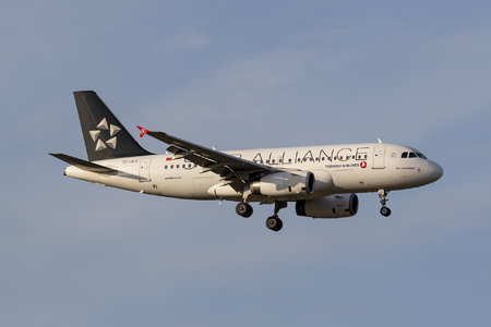 Airbus A319-132 - TC-JLU operated by Turkish Airlines