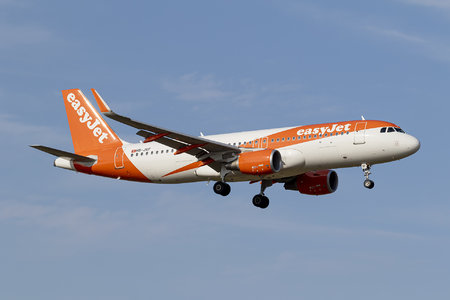 Airbus A320-214 - HB-JXF operated by easyJet Switzerland