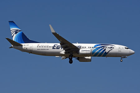 Boeing 737-800 - SU-GEF operated by EgyptAir
