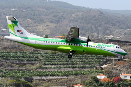 ATR 72-212A - EC-JQL operated by Binter Canarias